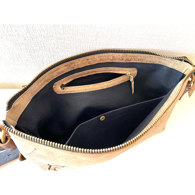heybabyheropoo様専用 ryu メッセンジャーバック メンズのバッグ(ショルダーバッグ)の商品写真
