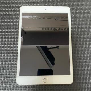 アイパッド(iPad)のiPad mini 4 セルラーモデル simフリー 128GB(タブレット)