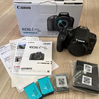 Canon - Canon EOS KISS X9i ブラック ボディ 【2020年9月購入品】