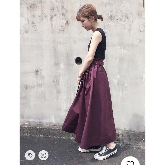 niko and...(ニコアンド)のNiko and… × Dickies 別注ロングスカート レディースのスカート(ロングスカート)の商品写真