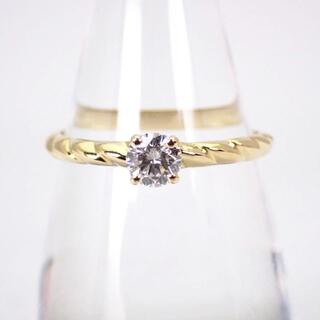CHAUMET - ショーメ K18 ダイヤモンド リング 13号[g387-9]