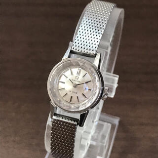 OMEGA - OMEGA DE VILLE オメガ デビル カットガラス 手巻き時計