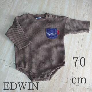 エドウィン(EDWIN)のEDWIN 70cm ロンパース(ロンパース)