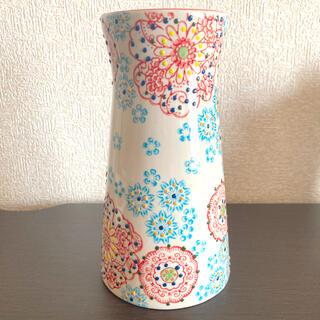 ZARA HOME - フラワーベース 手書き 花柄 花瓶