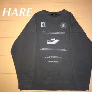 HARE - HARE コレクションデザインスウェット