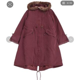 axes femme - axes femme♡刺繍モッズコート新品未使用タグ付き❣️定価8,960円
