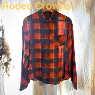 ロデオクラウンズ(RODEO CROWNS)のRodeo Crowns チェックシャツ(シャツ/ブラウス(長袖/七分))
