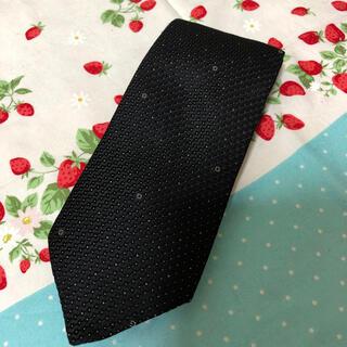 Gucci - グッチ GUCCI ネクタイ 黒 かっこいい イタリア製 シルク100%