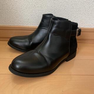 JELLY BEANS - ベルトショートブーツ/Style Jelly Beans ブラック S