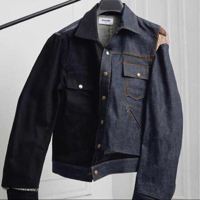 JOHN LAWRENCE SULLIVAN(ジョンローレンスサリバン)のKOZABURO デニムジャケット メンズのジャケット/アウター(Gジャン/デニムジャケット)の商品写真