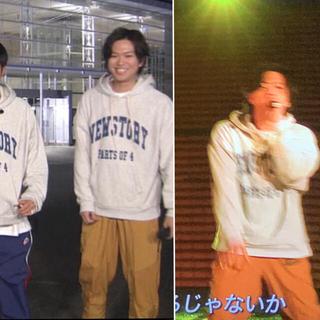 ニュース(NEWS)のNEWS STORY パーカー 加藤シゲアキセット(アイドルグッズ)