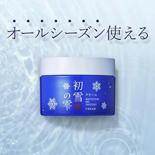 ムジルシリョウヒン(MUJI (無印良品))の新品未使用 初雪の雫 エイジング オールインワン 化粧下地 スキンケア  50g(フェイスクリーム)