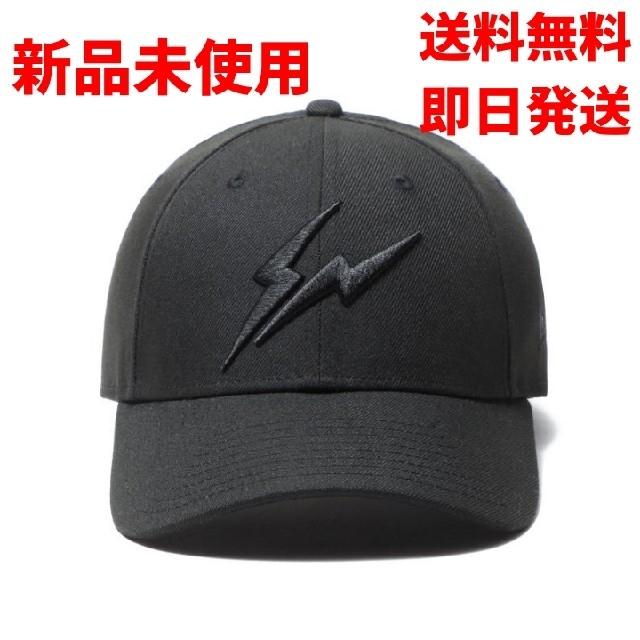 NEW ERA(ニューエラー)のNEW ERA 9FORTY FRAGMENT DESIGN サンダーロゴ メンズの帽子(キャップ)の商品写真