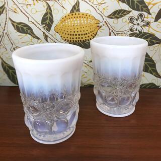 アンソロポロジー(Anthropologie)のアンソロポロジー*アンティークグラス(グラス/カップ)