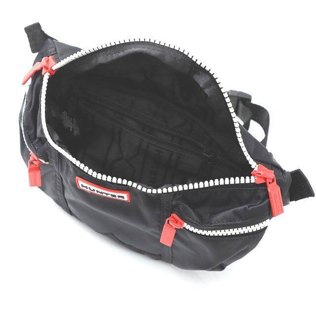 HUNTER(ハンター)の新品 ハンター HUNTER バムバッグ ボディ ウエストバッグ ブラック レディースのバッグ(ボディバッグ/ウエストポーチ)の商品写真