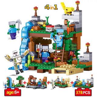 ツリーハウス マイクラ マインクラフト    ミニフィグ レゴ互換