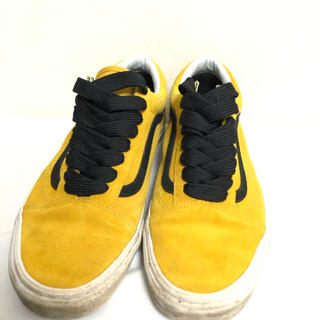 VANS - VANS バンス 靴 スニーカー 小物 メンズ オシャレ ファッション イエロー