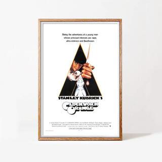 時計仕掛けのオレンジ 海外映画ポスター(印刷物)