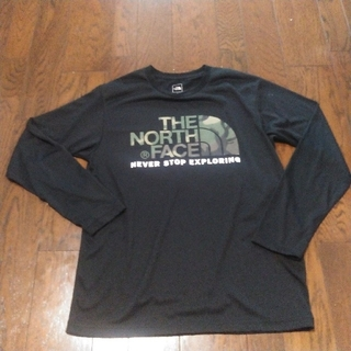THE NORTH FACE - THE NORTH FACE patagonia ノースフェイス ロンT L 黒
