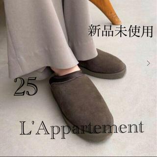 アパルトモンドゥーズィエムクラス(L'Appartement DEUXIEME CLASSE)のL'Appartement  スイコック カーキA 25cm(スリッポン/モカシン)