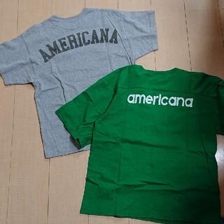 AMERICANA - AMERICANA アメリカーナ Tシャツ2枚