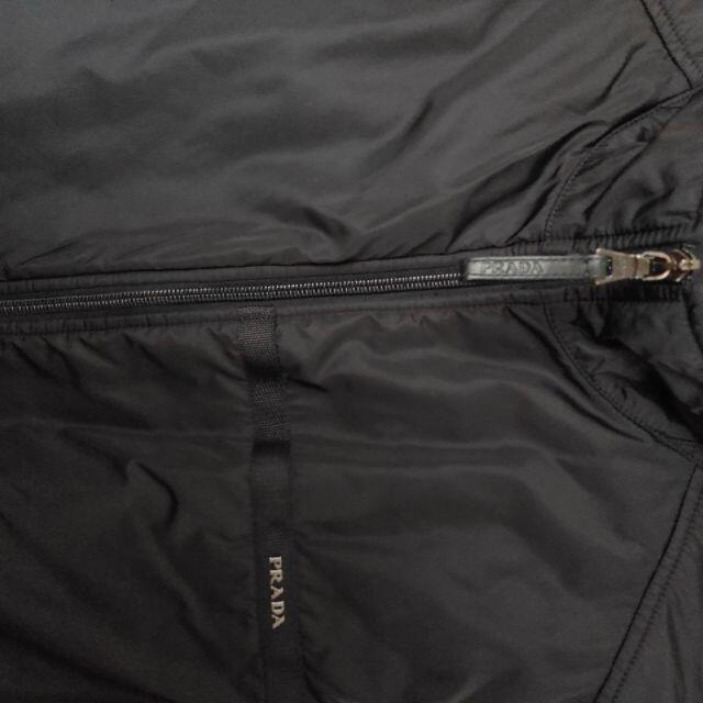 PRADA(プラダ)のPRADA 未使用 ナイロンベスト 中綿入り メンズのジャケット/アウター(その他)の商品写真