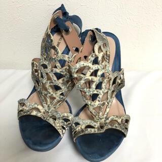 ヴィヴィアンタム(VIVIENNE TAM)のVIVIENNE TAM ヴィヴィアンタム 靴 サンダル ヒール レディース(サンダル)