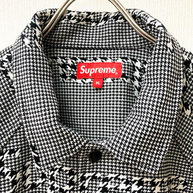 Supreme(シュプリーム)の【もり様専用】Supreme Houndstooth Logo Jacket メンズのジャケット/アウター(ブルゾン)の商品写真
