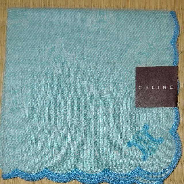 celine(セリーヌ)の新品☆セリーヌ☆ハンカチ レディースのファッション小物(ハンカチ)の商品写真