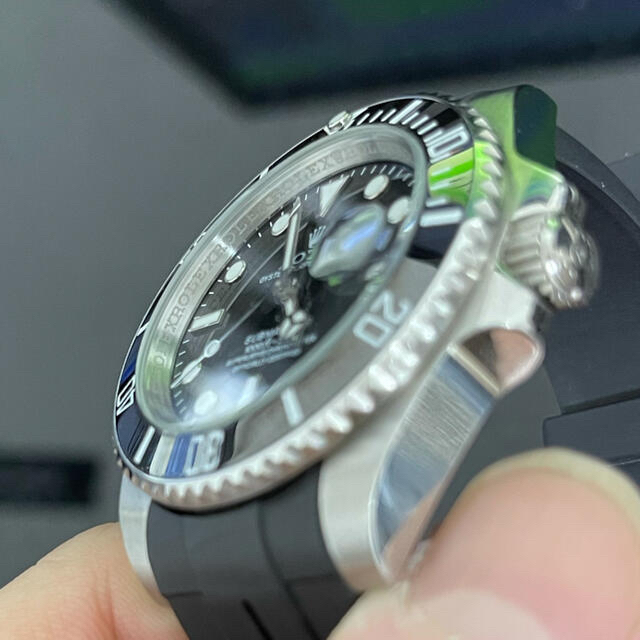 ROLEX(ロレックス)のサブマリーナ ノベルティ セラミックベゼル 蓄光あり メンズの時計(腕時計(アナログ))の商品写真