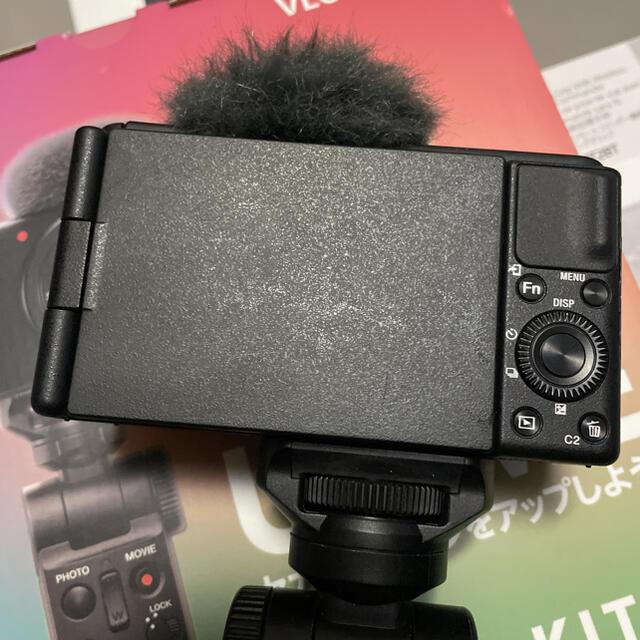 SONY(ソニー)のSony vlog cam ZV-1 +グリップ 元箱 スマホ/家電/カメラのカメラ(コンパクトデジタルカメラ)の商品写真
