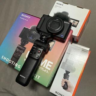 SONY - Sony vlog cam ZV-1 +グリップ 元箱