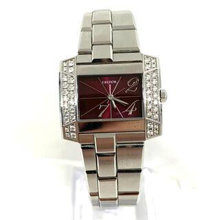 セイコー(SEIKO)の1月27日までの出品になります‼️稼働品✨ クレドール セイコー 腕時計☆(腕時計)