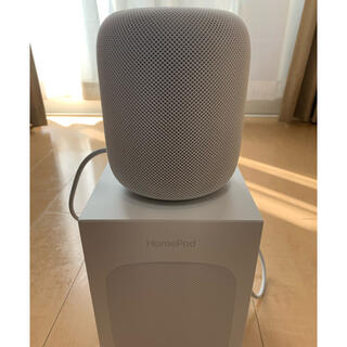 アップル(Apple)のApple HomePod ホワイト 箱あり(スピーカー)