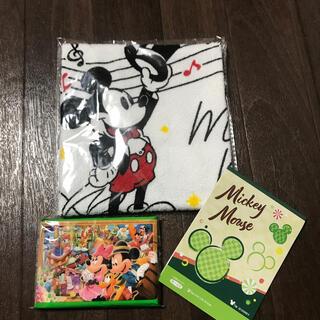 ディズニー(Disney)のディズニー タオル メモ帳 ノベルティ 第一生命(ノベルティグッズ)