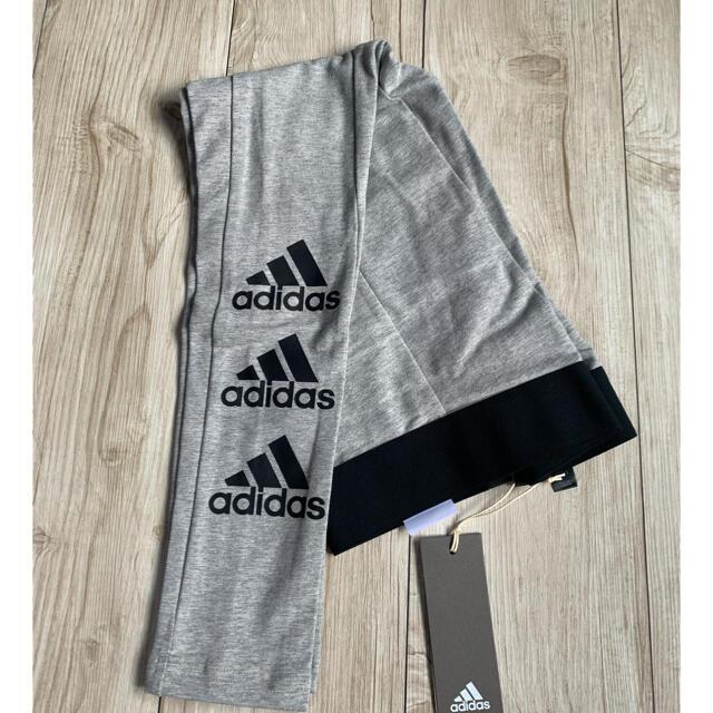adidas(アディダス)のM 新品 adidas アディダス レギンス マストハブ 3連ロゴ グレー  レディースのレッグウェア(レギンス/スパッツ)の商品写真