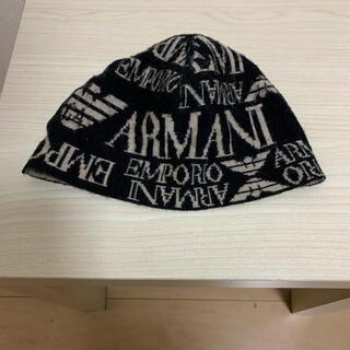 エンポリオアルマーニ(Emporio Armani)のエンポリオアルマーニ ニット帽(ニット帽/ビーニー)