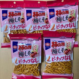 カメダセイカ(亀田製菓)の亀田の柿の種 梅しそ 5袋(菓子/デザート)