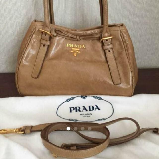 PRADA(プラダ)の【PRADA】プラダ 2way ハンドバッグ ショルダーバッグ レディースのバッグ(ハンドバッグ)の商品写真