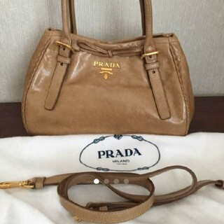 PRADA - 【PRADA】プラダ 2way ハンドバッグ ショルダーバッグ