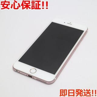 アイフォーン(iPhone)の新品同様 SIMフリー iPhone6S PLUS 16GB ローズゴールド (スマートフォン本体)