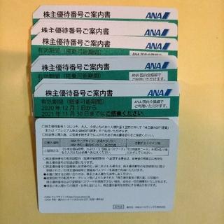 エーエヌエー(ゼンニッポンクウユ)(ANA(全日本空輸))のANA株主優待券×20枚(航空券)