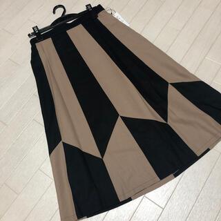 SCOT CLUB - バイカラーウールスカート グランターブル