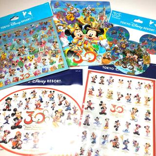 ディズニー(Disney)のディズニーリゾート30周年 フォトアルバム&ステッカーシールセット(シール)
