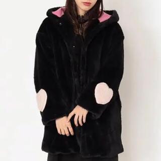 アンクルージュ(Ank Rouge)の袖♡ファーフードコート(毛皮/ファーコート)