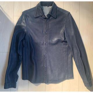 ジョルジオブラット(GIORGIO BRATO)のジョルジオブラット GIORGIO BRATO レザーシャツ(レザージャケット)