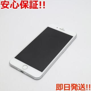 アイフォーン(iPhone)の美品 DoCoMo iPhone7 PLUS 128GB シルバー (スマートフォン本体)