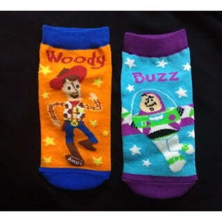 ディズニー(Disney)の【新品】Disney トイ・ストーリー 靴下(約19~21cm)(靴下/タイツ)