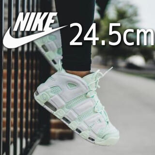 NIKE - 美品 希少 NIKE AIR MORE UPTEMPO BARELY GREEN