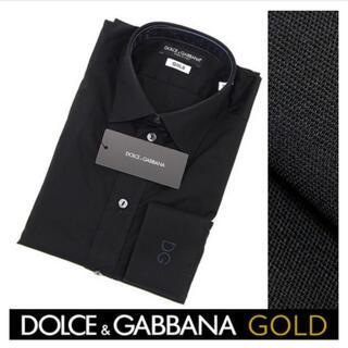 DOLCE&GABBANA - Dolce & Gabbana ドルチェ&ガッバーナ シャツ 黒